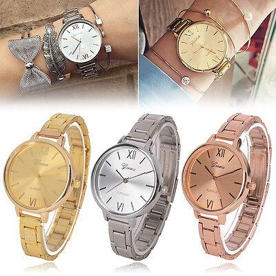 $2.45 - Geneva Women Slim Luxury Stainless Steel Band Analog Quartz Wrist Watch Watches