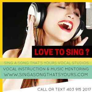 Sign Up For Singing Lessons!