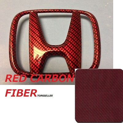 Red Brown Carbon Fiber Hydrographics Film Water Transfer Printing 50200cm