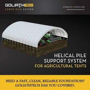 Fabric Buildings - Foundation Solution