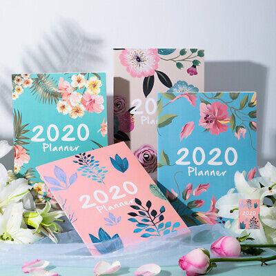 Agendas 2020 Planner Organizer A4 Notebook and Journals DIY 365 Days Plan BookMW