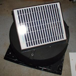 Ventilateur solaire de toit (grenier)