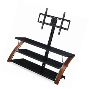 Whalen Tv Stand 3 In 1 For Tvs Up To 65 Brown Ebay