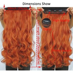 """Clip in hair extension,60 cm,24"""",NEW COLORS!!! AUBURN,COPPER RED Yellowknife Northwest Territories image 9"""
