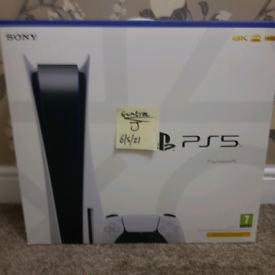 Playstation 5 PS5 disk - BRAND NEW - IN HAND - Ready to collect