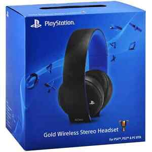 Ps4 gold wireless headset  London Ontario image 1