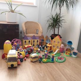 HUGE Peppa Pig Village Toy Set