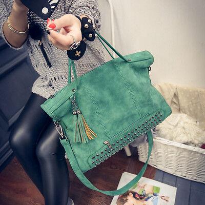 Bag - Fashion Women PU Leather Tote Shoulder Messenger Ladies Handbag Bag Purse