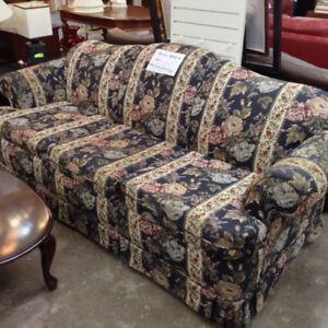 Floral Pattern Living Room Set