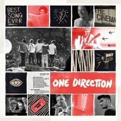 ONE DIRECTION - BEST SONG EVER  CD SINGLE  4 TRACKS INTERNATIONAL POP  (Best Electro Tracks Ever)