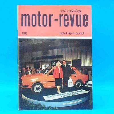 DDR Motor-Revue 7-1983  (tschechoslowakische) Skoda Jawa CZ Tatra II