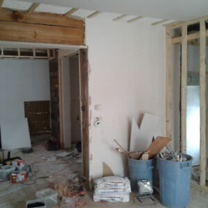 Professional Drywall Install and Taping