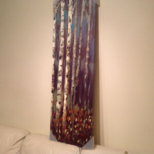 Art Print on Canvas Birch Trees London Ontario image 2