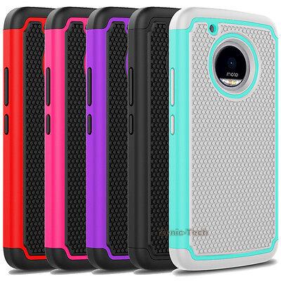 For Motorola Moto G5 Plus G5s Plus Case Shockproof Armor Hard Phone Back Cover