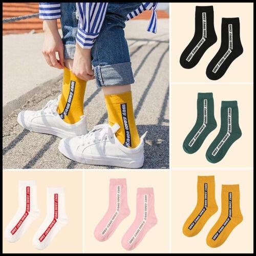 Women Comfortable Cotton Sock Slippers Socks Fashion Letter