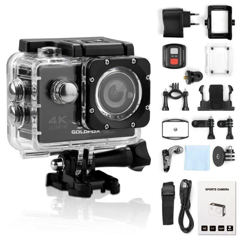 Ultra 4K Full HD 1080P Outdoor Waterproof Sport Camera WiFi Action Camcorder DVR