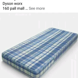 Single mattresses in stock brand new