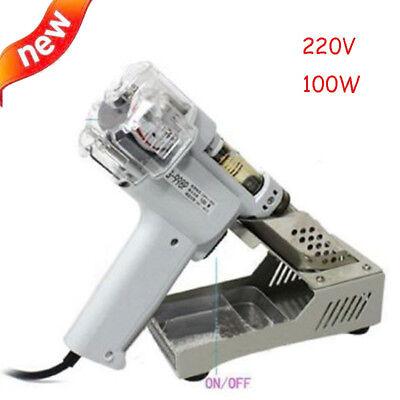 220v S-998p Double-pump Electric Desoldering Gun Vacuum Pump Solder Sucker 100w