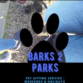 Weekend Pet/Dog Walking Service