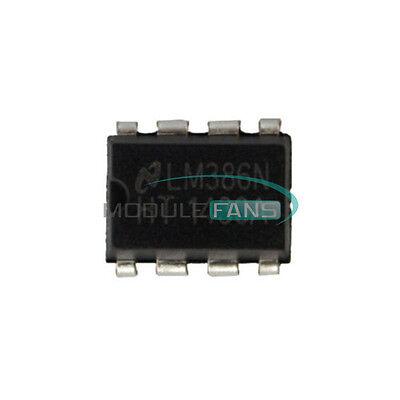 50pcs Lm386n Lm386 Dip-8 Audio Power Amplifier Ic Test Equipment
