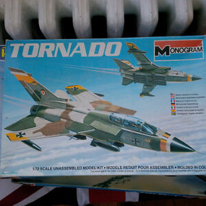 Tornado Model Kit 1 72 - Monogram