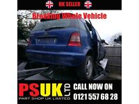Mercedes A140 (2001) Breaking Whole Vehicle