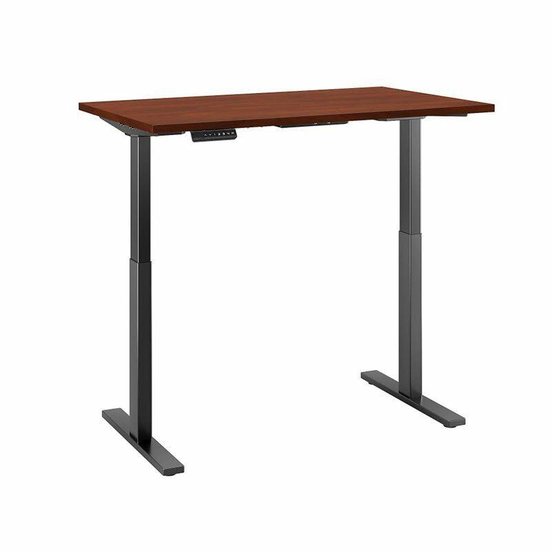 Move 60 Series 48W Height Adjustable Standing Desk in Cherry