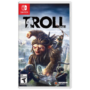 Nintendo Switch Troll and I + RECEIPT + DELIVERY