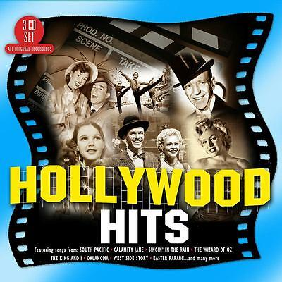 Various Artists - Hollywood Hits (2017)  3CD  NEW/SEALED  SPEEDYPOST