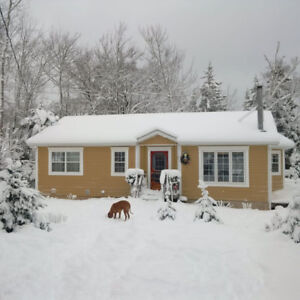Lake Cottage for Rent in  Wentworth Nova Scotia