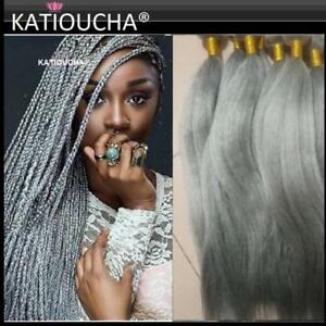 BEST BRAIDING HUMAN HAIR at the BEST PRICE!!! 100% VIRGIN COARSE ITALIAN HAIR...SILVER GRAY HAIR...