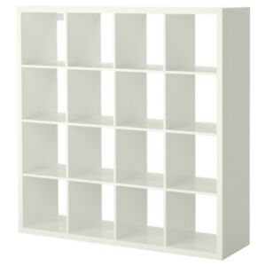 Kallax 16 shelve unit (white)
