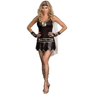 NEW Womens Warrior Queen Party Gladiator Costume Plus SIZE 3X 4X