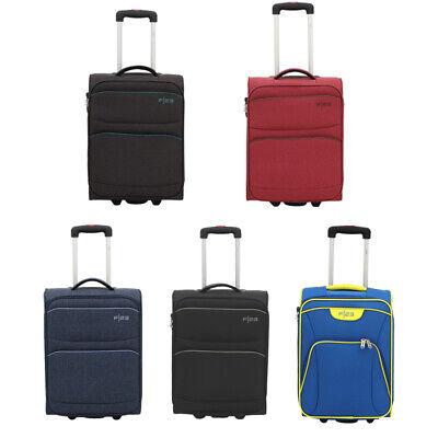 Weichgepäck Koffer Handgepäck Trolley Reisekoffer 2 Rollen Größe S 55 cm