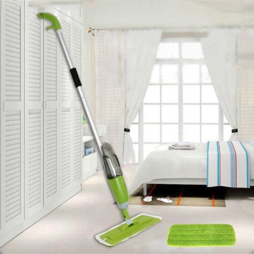 Spray Mop Sprühmop Set Bodenwischer Wischmop Wischer Wassertank Mopp