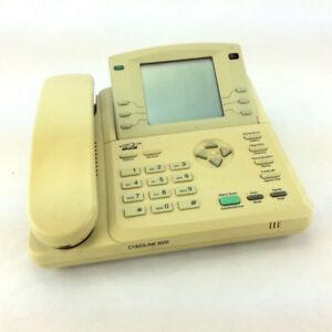 Office Phone Bell Cybiolink 8000 LCD Display Bilingual Desk Home
