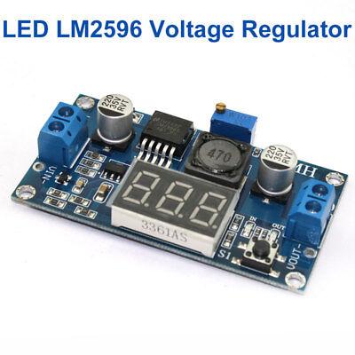 Lm2596 Led Voltage Regulator Dc Buck Adjustable Step Down Converter Module
