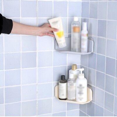 Plastic Bathroom Triangle Rack Shower Shelf Corner Storage Wall Basket Rack - Plastic Corner