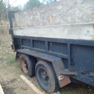 10x6 Dump Trailer for sale! Works Great!