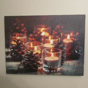 LIGHT UP - BLOW OUT CHRISTMAS PRINT