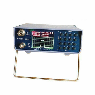 Uhf Vhf Spectrum Analyzer Dual Band With Tracking Source 136-173mhz Usa