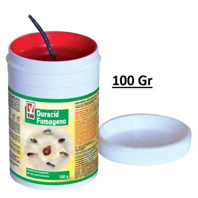 VEBI Duracid Bomba de Humo Insecticida Fumigante para Uso Profesional 100 Gr