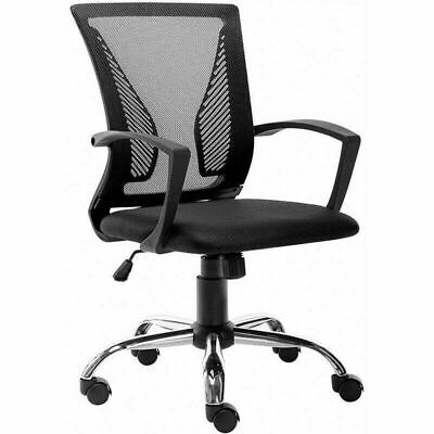 Ergonomic Midback Mesh Office Chair Executive Swivel Computer Desk Seating