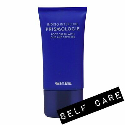 🌸 Prismologie Indigo Interlude Oud and Sapphire Relaxing Foot Cream ~ 40ml 🌸