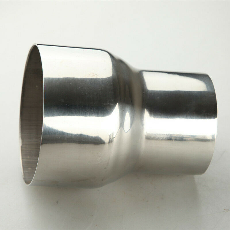 """2.75/"""" TO 3/"""" INCH WELDABLE TURBO//EXHAUST STAINLESS STEEL REDUCER ADAPTER PIPE US"""