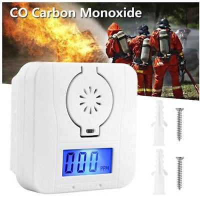 Alarma CO Sensor Inteligente Detector De Advertencia Humo Gas Envenenado