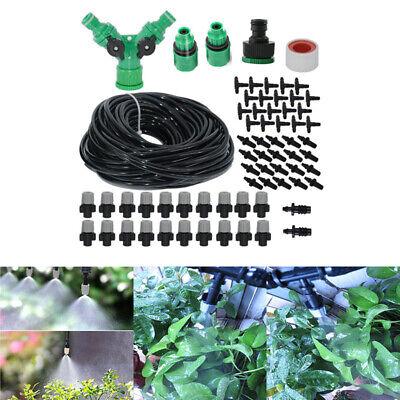 20M Wasser Benebelung Kühlsystem Mist Sprinkler Düse Außen Garten Werkzeug Kit (Garten-werkzeug-kit)