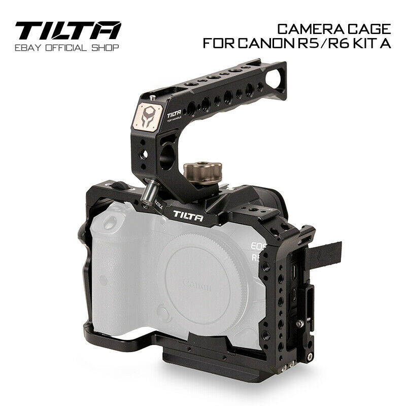 Tilta Camera Cage Rig Canon R5/R6 Kit A Handle Holder Stabilizer For Canon R5/R6
