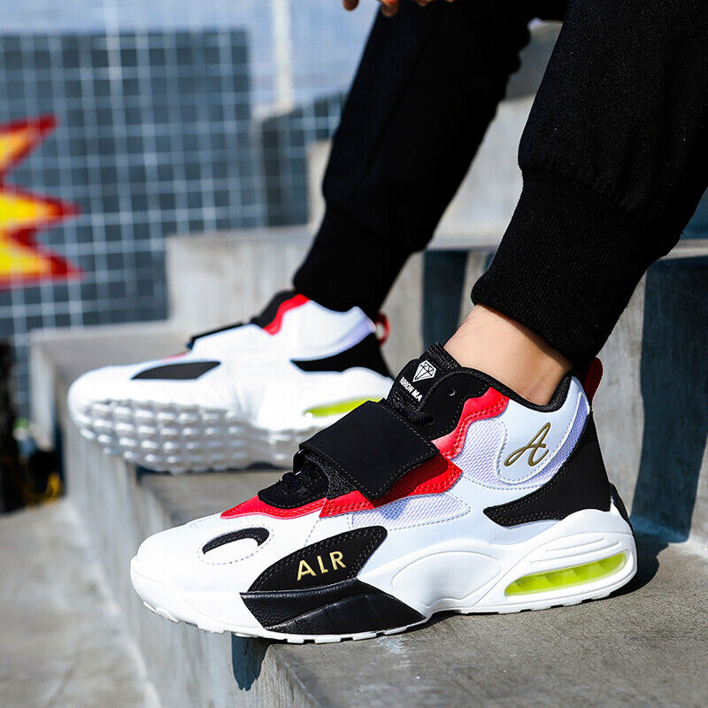 NEW Men's Fashion Casual Running Sneakers Tank Sole Sports Breathable Shoes