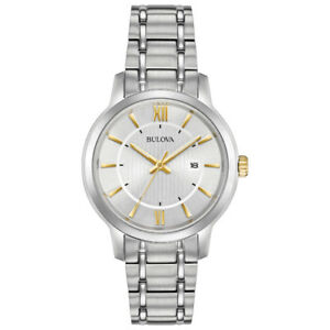 Bulova Classic Women's Analog Dress Watch - Silver-NEW IN BOX